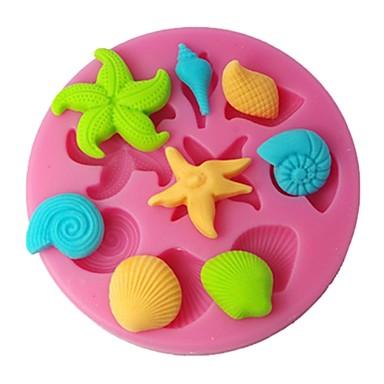 Négy-c szilikon penész cupcake tetején penész tortát tervezés kellékek színes pink