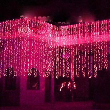 LED String lampy - Vánoce a Halloween dekorace - Festival světla - Svatba Light (Leh-84070)