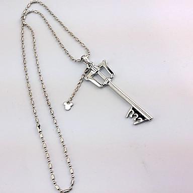 Mehre Accessoires Inspiriert von Kingdom Hearts Cosplay Anime/ Videospiel Cosplay Accessoires Schlüsselanhänger Aleación Damen