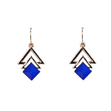 Dames Druppel oorbellen Acryl Legering Driehoek Geometrische vorm Sieraden Bruiloft Feest Dagelijks Causaal Sport Kostuum juwelen