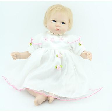 Lebensechte Puppe Baby 18 Zoll Silikon / Vinyl - lebensecht Mädchen Kinder Geschenk