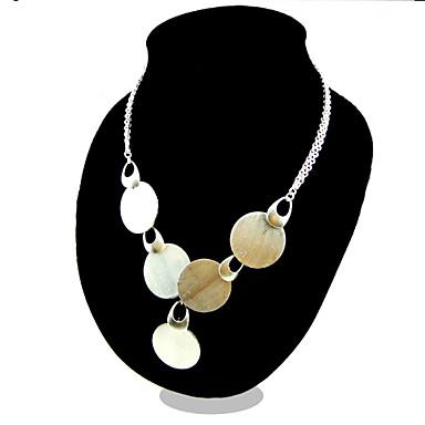 Women's Fashion Pendant Necklace Silver Sterling Silver Pendant Necklace , Party Casual