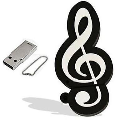 8GB usb flash drive usb disk USB 2.0 Plastic Musical Instruments Cartoon