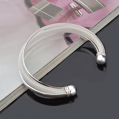 Bracelet Manchettes Bracelets Alliage / Acier au titane Mariage / Soirée Bijoux Cadeau Argent,1pc