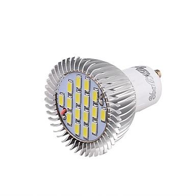 GU10 LED Spot Lampen 16 SMD 5630 650 lm Kühles Weiß 6000 K Dekorativ V