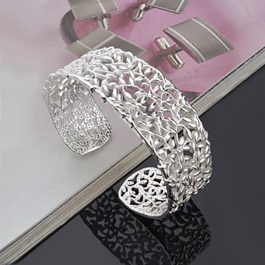 Dames Cuff armbanden Uniek ontwerp Modieus Met de Hand Gemaakt Europees Titanium Staal Legering Anderen Sieraden Bruiloft Feest