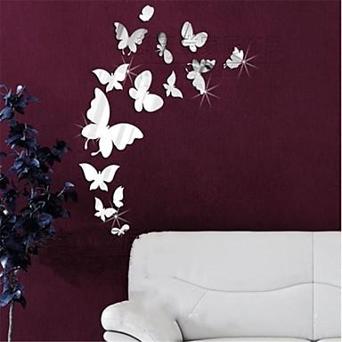 levne Samolepky na zeď-Zvířata 3D Samolepky na zeď Nálepky na zeď zrcadlové Ozdobné samolepky na zeď, Vinyl Home dekorace Lepicí obraz na stěnu Stěna