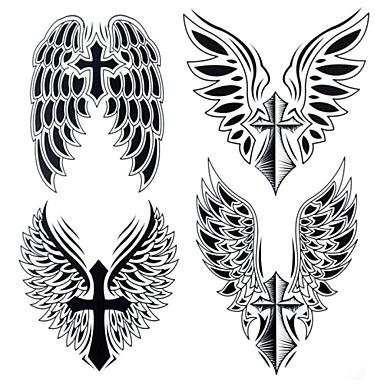Tetkó matricák Mások Nagy méret Waterproof Női Férfi Felnőtt Tini flash-Tattoo ideiglenes tetoválás