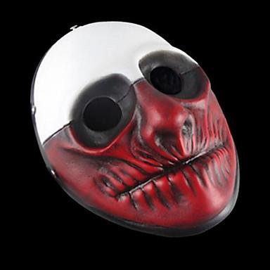 voordelige Maskers voor de feestdagen-Halloweenmaskers Carnavalsmaskers polykarbonaatti Muovi Filmpersonage Horrorthema Volwassenen