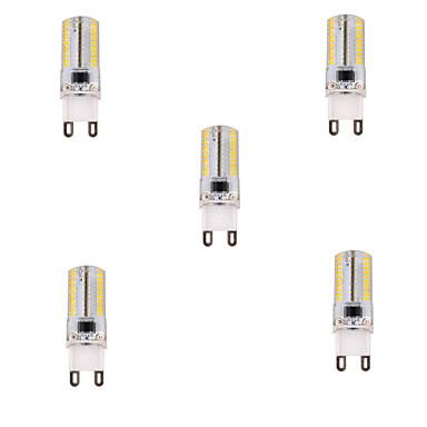G9 LED-maïslampen T 80 leds SMD 3014 Dimbaar Warm wit Koel wit 450lm 2800-3200/6000-6500K AC 220-240V