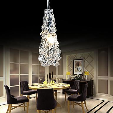 Модерн Подвесные лампы Потолочный светильник - Мини, 110-120Вольт 220-240Вольт, Белый, Лампочки включены