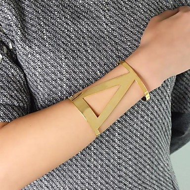 Feest/Dagelijks/Causaal - Cuff armbanden (Legering , Gouden)