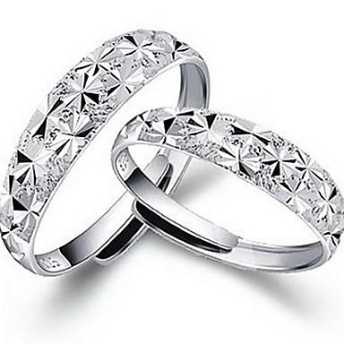 zpcs zilveren sterrenhemel opening ring huwelijksfeest elegante vrouwelijke stijl