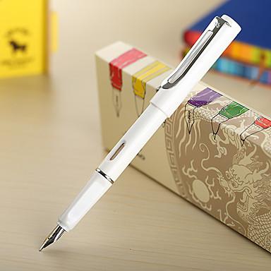 0.38mm White Fashion Business Fountain Pen