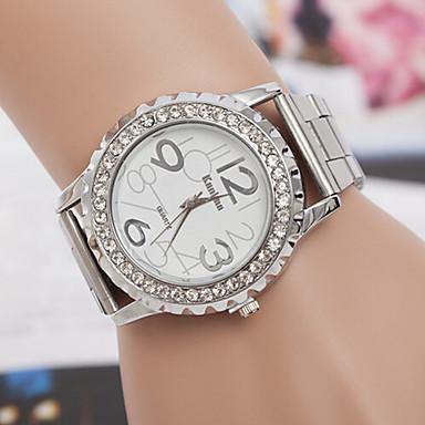 yoonheel Dame Quartz Simulert Diamant Klokke sveitsisk Imitasjon Diamant designere Metall Band Sjarm Mote Sølv Gylden Rose Gull