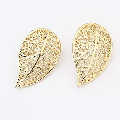 Vintage/Cute/Party Gold Plated/Alloy Stud Earrings