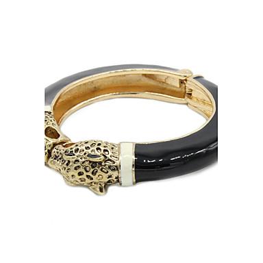 Dames Cuff armbanden Kristal Modieus Legering Zwart Sieraden Voor Dagelijks Causaal 1 stuks