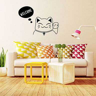 Wall Stickers Wall Decals, Style Welcome English Words PVC Wall Stickers