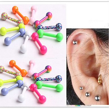 Ear Piercing - Stainless Steel Unique Design, Fashion Women's Body Jewelry For Daily / Casual