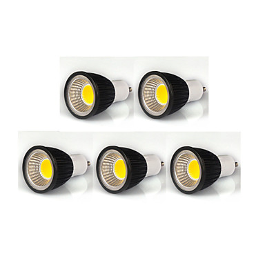 380lm GU10 LED szpotlámpák MR16 1 LED gyöngyök COB Tompítható Meleg fehér / Hideg fehér / Természetes fehér 110-130V / 220-240V