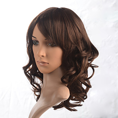 Synthetic Wig Wavy Synthetic Hair Wig Women's Capless