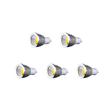 500-600 lm GU10 LED Spotlight MR16 1 leds COB Warm White Cold White Natural White AC 85-265V