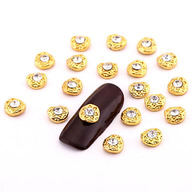 10 Bijoux à ongles Autres décorations Fruit Fleur Abstrait Classique Dessin Animé Adorable Mariage Quotidien Fruit Fleur Abstrait
