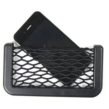 car net szervező zseb autó raktár net 14.5x8cm autóipari táska doboz ragasztó napellenző autó táska szerszámok mobiltelefon