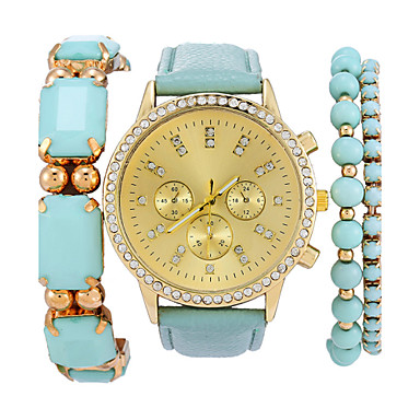 Часы-браслет Имитационная Четырехугольник Часы Имитация Алмазный Кварцевый Группа Богемные Элегантные часы