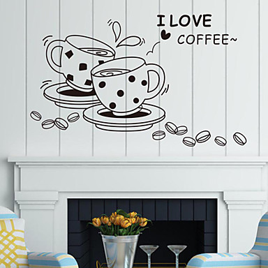Shapes Cartoon Wall Stickers Plane Wall Stickers Decorative Wall Stickers, PVC Home Decoration Wall Decal Wall