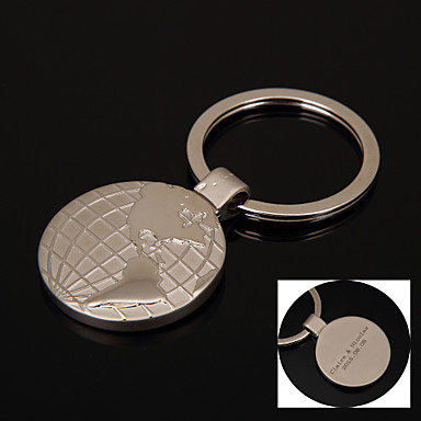 Keychain Favors Stainless Steel Crystal Items-Piece/Set