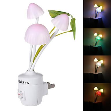 NO - 1 - ( W ) - Blauw/Rood/Groen/Natuurlijk Wit - AC - Sensor - Nacht Lampen - AC 220 - ( V )