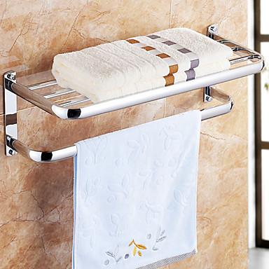 Κρεμάστρα Ράφιι μπάνιου Θερμότερα για πετσέτες / Χρώμιο Ανοξείδωτο Ατσάλι /Σύγχρονο