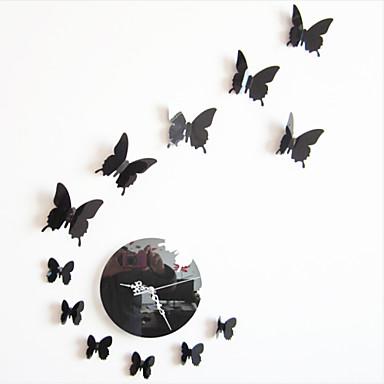 Настенные часы - Пластик - Модерн - Круглый