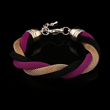 Damskie Bransoletki i łańcuszki na rękę Unikalny Modny minimalistyczny styl Posrebrzany Pozłacane Stop Inne Biżuteria Prezenty