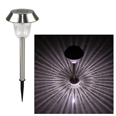 LED-Solarleuchten 1 LEDs Kühles Weiß Wiederaufladbar Dekorativ Batterie
