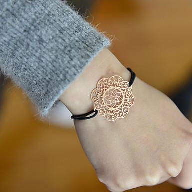 billige Motearmbånd-Dame Perlearmbånd Lotus Tøy Armbånd Smykker Sølv / Rose / Gylden Til Bryllup Fest Daglig Avslappet Sport
