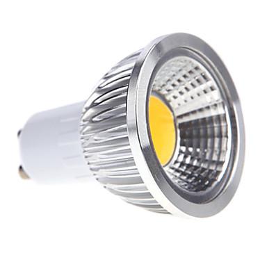 250-300lm GU10 Светодиодные параболические алюминиевые рефлекторы MR16 1 Светодиодные бусины COB Диммируемая Тёплый белый / Холодный