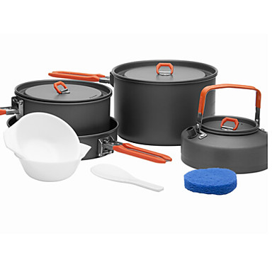 Fire-Maple Camping Cookware Mess Kit Sets Aluminium Alloy for Outdoor Picnic