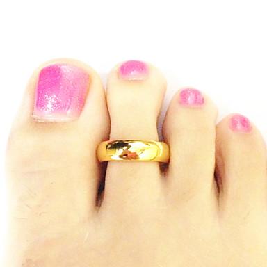 Vücut Mücevheri/Ayak Parmağı Yüzüğü Altın Kaplama Others Eşsiz Tasarım Moda Altın 1pc