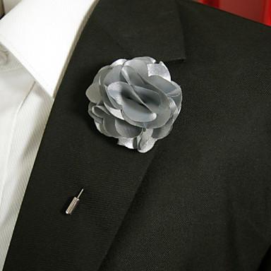 Femme Broche - Fleur Elégant Broche Argent Pour Quotidien