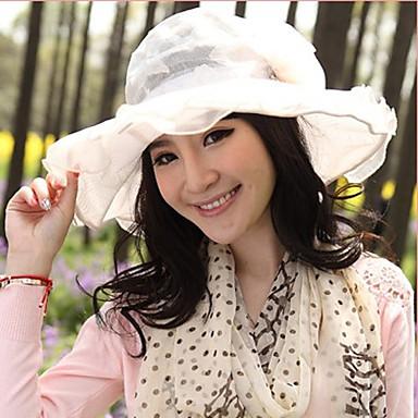 Damen Spitzen Tüll Kopfschmuck-Besondere Anlässe Freizeit im Freien Mützen 1 Stück