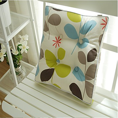 Home Office 48*48cm Square Cotton Seat Chair Cushion Pad
