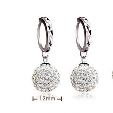 Women's Drop Earrings Sterling Silver Silver Jewelry Wedding Party Daily Casual Costume Jewelry