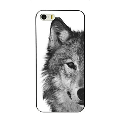 Case For Apple iPhone 8 iPhone 8 Plus iPhone 5 Case iPhone 6 iPhone 6 Plus iPhone 7 Plus iPhone 7 Pattern Back Cover Animal Hard PC for