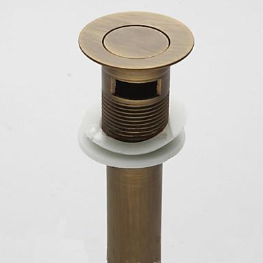 Csaptelep tartozék - Kiváló minőségű - Vintage Sárgaréz Felugró vízelvezetés túlfolyás nélkül - Befejez - Antik bronz
