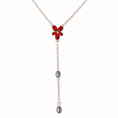 Women's Shape Pendant Necklace Alloy Pendant Necklace