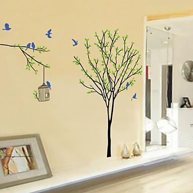 Tiere Cartoon Design Botanisch Wand-Sticker Tier Wandaufkleber Dekorative Wand Sticker, Vinyl Haus Dekoration Wandtattoo Wand