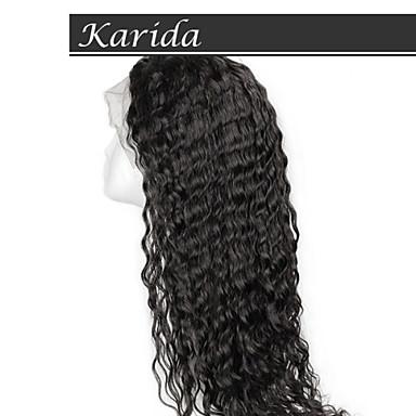 14-26inch дешевые парики человеческих волос для черных женщин, 100 процентов глубокая волна человеческих волос парики