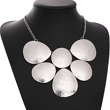 Women's Geometric Luxury Statement Necklace Statement Necklace , Party
